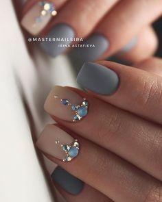 Image may contain: one or more people and closeup Swarovski Nails, Crystal Nails, Rhinestone Nails, Bling Nails, Best Acrylic Nails, Acrylic Nail Designs, Gorgeous Nails, Pretty Nails, Diamond Nails