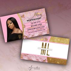 Business Thank You Cards, Business Notes, Beauty Business Cards, Business Logo Design, Business Branding, Business Flyers, Opening Your Own Business, Makeup Studio Decor, Business Hairstyles