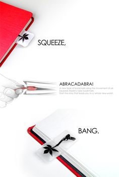 Puffy Bookmark | Yanko Design