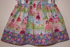 Princess Skirt    Size 2  7 by bubblenbee on Etsy