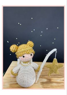 This lovely angel is part of the new Woolytoons nativity set. You can find the complete pattern here: Christmas Nativity, Christmas Ornaments, The Donkey, The Shepherd, Photo Tutorial, Pet Store, More Pictures, Sheep, Crochet Patterns