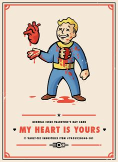 Fallout   Valentine's Card