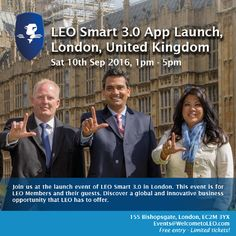The LEO Smart 3.0 app which will be launched on 10 September 2016 will help us all get to 1,000,000 Members. When you download the app it will ask if you want to send an SMS to your friends offering a free gift. They will be intrigued as to why its free: what do they get? They get 1 LEOcoin and training packs including training in digital currencies. When they download the app the app will add them to your downline and you will also get 1 LEOcoin.