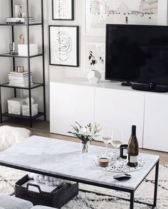 white and minimal home inspiration