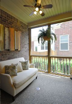 Private Screened Porch, The Manchester II, 2005 Barclay Lane, Franklin TN, 37064, located in The Barclay Place Community