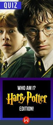 Quiz: Who Am I? Harry Potter Edition! Harry Potter Trivia. Do you think you know EVERYTHING about Harry Potter? Let's see! JK Rowling, Ron Weasley, Hermione Granger, Hagrid, Malfoy, Professor Snape, Hogwarts.