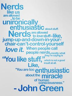John Green Quote: He Has Some Of The Best Quotes Ever.seriously Read His  Stuff!