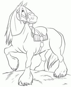 Cute Horse Coloring Page Girls Pages Animal Sheets Free Online And Printable For