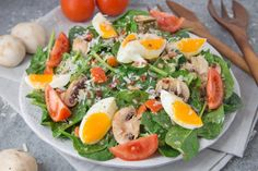 Spinach Salad With Honey Bacon Dressing Recipe - Genius Kitchen