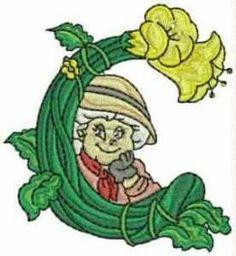 Typography - Gardener Alphabet - Letter C