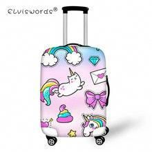 Elastic Zip Luggage Cover Landscape Sea Coast Tree Nature Rock Travel Suitcase Protector Fits 26-28 Inch