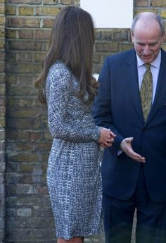Pregnant, Catherine, Duchess of Cambridge makes her first public appearance of the New Year as she visits Hope House.  (February 19, 2013 - Source: Bauer Griffin)