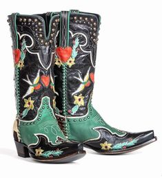 Cowgirl Boots, Western Boots, Cowgirl Chic, Western Wear, Sneakers Fashion, Fashion Shoes, Art Boots, Old Gringo Boots, Country Boots