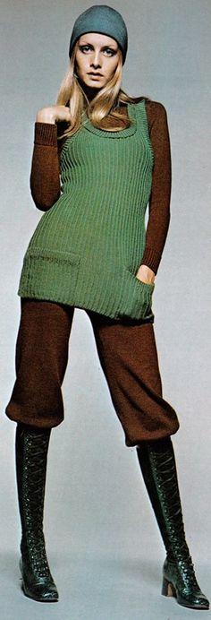Twiggy, 1970 | Photograph by Justin de Villeneuve. Twiggy was chosen to portray the lead in Ken Russell's, 'The Boyfriend', 1971.