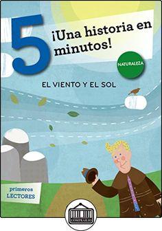 El viento y el sol. ¡Una historia en 5 minutos! (Tres pasos) de Tradición popular ✿ Libros infantiles y juveniles - (De 3 a 6 años) ✿