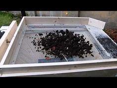 elektrisches Kompostsieb Marke Eigenbau - YouTube