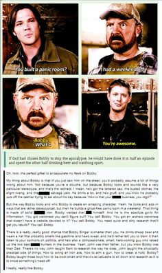 Tribute to Bobby Singer by lola