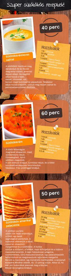 Szuper sütőtökös receptek! :)