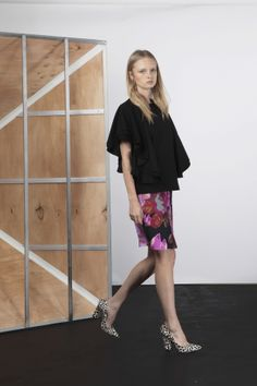 THE BREACH SKIRT pink posey  | Cameo | Twin Peaks