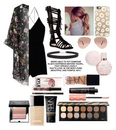 """Untitled #488"" by crazygurl06 ❤ liked on Polyvore featuring Wilfred, Top Guy, Humble Chic, Casetify, Ray-Ban, Bare Escentuals, Benefit, NARS Cosmetics, Chanel and Bobbi Brown Cosmetics"