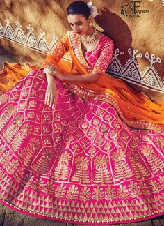 Bridal Lehenga Choli 2017