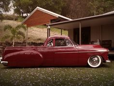 1950 Chev Ute from down under: LOWTECH :: traditional hot rods and customs: ultimate utility