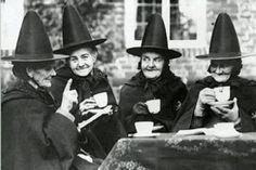 Tea Party de sorcière victorienne Wiccan sœurs par EclecticForest