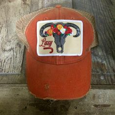 3bb473adf2e Skull and Flowers Lazy J Hat Kids Western Boots