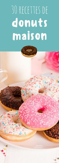 30 recettes faciles de donuts maison ! Croissants, Beignets, Us Foods, Delicious Donuts, Homemade Donuts, Just Eat It, English Food, Pastry Cake, Donut Recipes