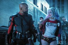 'Harley Quinn' And 'Deadshot' Share A Moment In New SUICIDE SQUAD Still