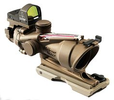 Trijicon ACOG Rifle Scope.. ( with or without Bible Verse ;-)