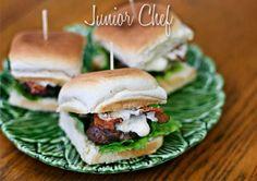 Juniorchef- Meaty Burger With Horseradish Mayonnaise  http://www.juniorchef.in/meaty-burger-with-horseradish-mayonnaise/