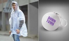 Don't get caught in the rain! Promotional Ponchos.
