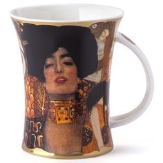 Dunoon - Belle Epoque Richmond Mug Judith  We bought some of these in Vienna last year.  Just beautiful coffee cups inspired by Klimt