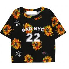 To find out about the Black Batwing Short Sleeve Daisy 25 Print T-Shirt at SHEIN, part of our latest T-Shirts ready to shop online today! Latest T Shirt, Latest Street Fashion, Boyfriend T Shirt, Crop Shirt, Shirt Shop, Printed Shirts, T Shirts For Women, Clothes, Women's T Shirts