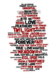 yes it Twilight this would be cute to do with your family's quotes or other books or  during a play/musical