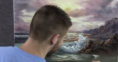 Come dipingere il mare, l'alba, le onde, la schiuma, la sabbia. Video tutorial e consigli | Stile Arte