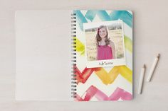 back to school shopping: Our kids would love to get this notebook personalized with their own photo as a special first-day gift.