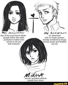 drinkyour*******milk - Mikasa and her parents