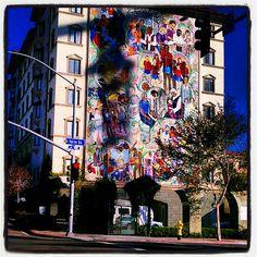 artistic mural- downtown San Diego, CA