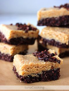 Peanutbutter and cocoa bars without sugar