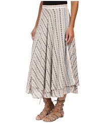 Free People Good For You Printed Skirt - $253.00