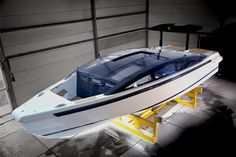 """The tender to CRN's M/Y """"Yalla"""" built by Younique Yachts from the Netherlands."""