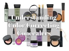 Concealer 101: Understanding Color Correcting Concealers. Use the opposite color on the color wheel to conceal. For example, if u have purple bags under your eye, use yellow concealer to cover them up. For red pimples, u use green concealer to hide them :)
