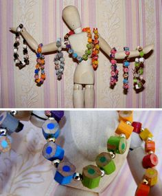 Upcycled pencil bracelet  various colours by CharminglyPointless, $4.00