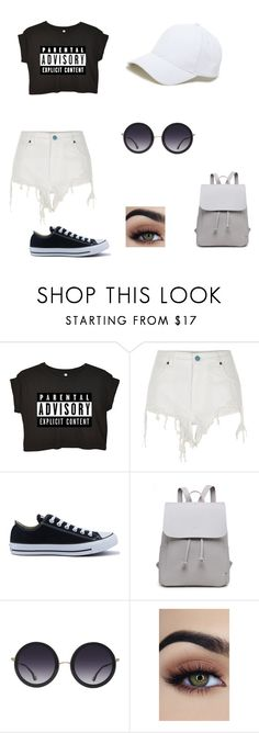 """""""Untitled #69"""" by darianna-lascano on Polyvore featuring River Island, Converse, Alice + Olivia and Sole Society"""