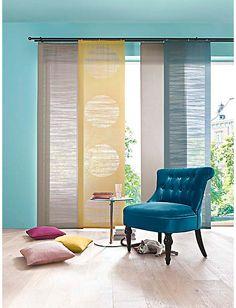 Marvelous heine home Schiebevorhang wei im Heine Online Shop kaufen