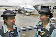 Kuwait Airways Stewardesses