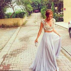 Sinem Kobal'in Giydiği @tuvanam Elbise Mart ayinda renk seçenekleriyle sizlerle ❤️