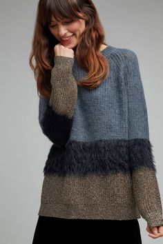 Shop the Ole Faux Fur Trim Metallic Jumper and more Anthropologie at Anthropologie. Read reviews, compare styles and more.